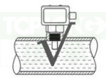 热式流量传感器-3220型安装